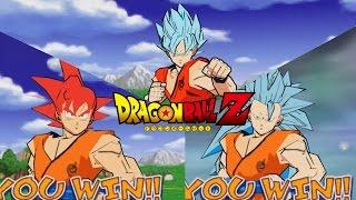 Dragon Ball Shin Budokai All Forms Goku SSG/SSGSS/SSGSS3/SSJ4 MOD Gameplay
