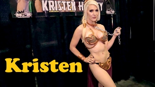 getlinkyoutube.com-Kristen Hughey (Slave Leia) Interview: Los Angeles Comic Con 2016 #ThatCosplayShow