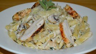 معكرونة الدجاج بالصلصة البيضاء Chef Ahmad AllCooking/Pasta White Sauce