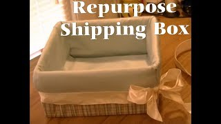 getlinkyoutube.com-DIY Gift Box From Shipping Box - Freestyle Friday #39