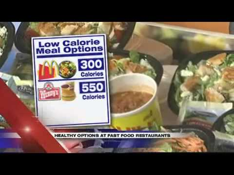Eating Healthy at Fast Food Restaurants-- KPSP Local 2 Special Report