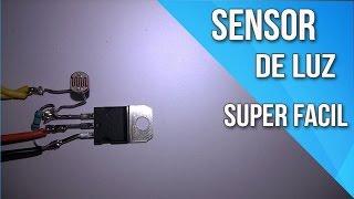 getlinkyoutube.com-Sensor de luz Com Apenas 3 Componentes