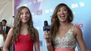 getlinkyoutube.com-Industry Dance Awards 2016 - Maddie Ziegler Full Interview and Award Clips