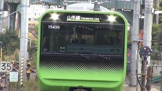 getlinkyoutube.com-新型E235系山手線初営業運転
