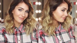 getlinkyoutube.com-Locken bei mittellangen Haaren! | BELLA