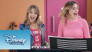"""Violetta: Momento Musical: Violetta y Lena cantan """"Descubrí"""""""
