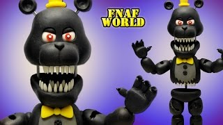 "FNaF World ★ ADVENTURE NIGHTMARE ""Tutorial"" - Porcelana fria ★ Polymer clay ★ Plastilina"