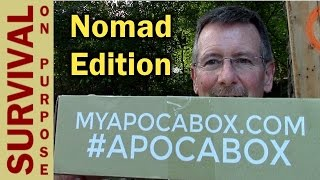 getlinkyoutube.com-Apocabox October 2016 Unboxing - The Nomad Edition