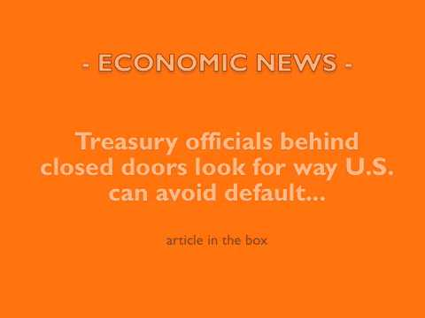 RE ECONOMIC: Treasury Secret Options U.S. Default