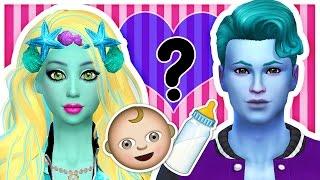 getlinkyoutube.com-If Lagoona Blue and Gil Had CHILDREN! ♥ The Sims 4 Monster High ♥ Genetics ♥