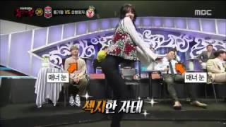getlinkyoutube.com-170115 AOA Hyejeong Miniskirt @ MBC King Of Mask Singer