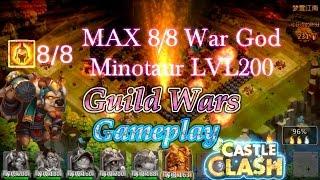 getlinkyoutube.com-Castle Clash Minotaur Guild Wars Gameplay_Fun to watch_