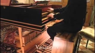 getlinkyoutube.com-PEDAL harpsichord: Johann Pachelbel - Arietta, performed by Marco Vincenz