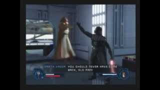 getlinkyoutube.com-Star Wars: Revenge of the Sith PS2 Walkthrough - Bonus 5: Episode IV Death Star