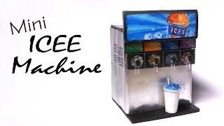 getlinkyoutube.com-Miniature Slushie / Icee Machine - Polymer Clay Tutorial
