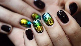 getlinkyoutube.com-Литье на ногтях + витражные гель-лаки
