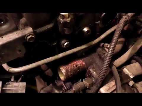 Приора 2170 снятие генератора и крышки клапанов