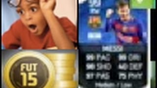FIFA 15 IOS/ANDROID HOW TO GET MESSI !
