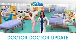 getlinkyoutube.com-The Sims FreePlay Doctor, Doctor Update Official Trailer