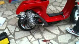 getlinkyoutube.com-Vespa SGM MARANELLO ( motore cart) TARQUINIA 2° PARTE