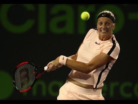 2018 Miami Fourth Round | Jelena Ostapenko vs. Petra Kvitova | WTA Highlights