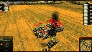 getlinkyoutube.com-World of Tanks T92 vs. 15 MS-1s