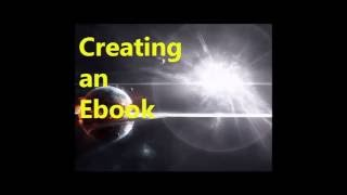 Creating an Electronic book Cutting the binding (e-book)