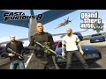 FAST & FURIOUS 8: THE FATE OF THE FURIOUS!! GTA 5 Mods