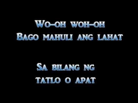 Never The Strangers - Bago Mahuli Ang Lahat [Lyrics] -Gi89d0jzVaY