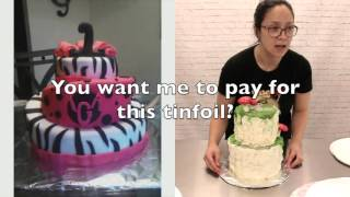 getlinkyoutube.com-Why you should cover your cake boards