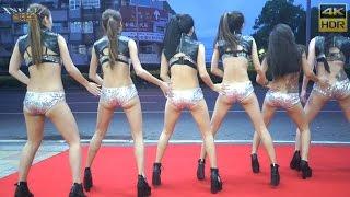 getlinkyoutube.com-Hot Q Girls 熱舞 4 New Thang(4K HDR)@高雄橋頭四面佛[無限HD]