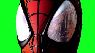 getlinkyoutube.com-Spiderman Cam Zooms Out - Green Screen (1080p)