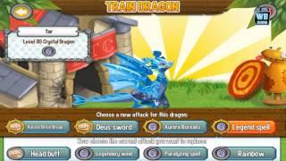 getlinkyoutube.com-Dragon City: Crystal Dragon Battle & Skills