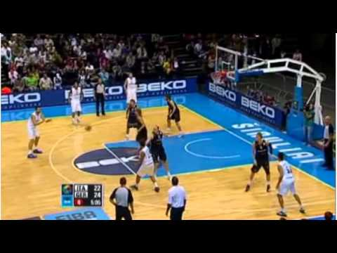 Eurobasket 2011 - Italy vs Germany Highlights