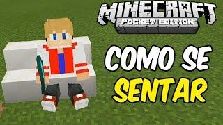 getlinkyoutube.com-Minecraft PE 0.16.0: COMO SE SENTAR (Sem Mods)
