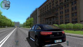 getlinkyoutube.com-City Car Driving 1.5.2 Mercedes-Benz GLE45 AMG TrackIR 4 Pro [1080P]