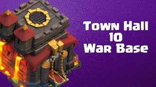 "getlinkyoutube.com-Clash of Clans - TH10 War Base ""Anti LaLoon"" Reupload"