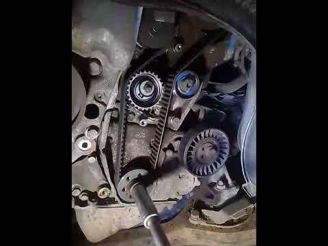 Работа натяжного ролика Lancia Kappa 2
