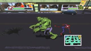 getlinkyoutube.com-Ultimate Spiderman Walkthrough part 11 (Spidey vs Green Goblin)
