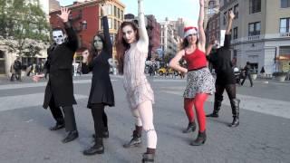 "getlinkyoutube.com-""This is Halloween"" -  Dance Fitness for Artists (DFFA) Flash Mob"