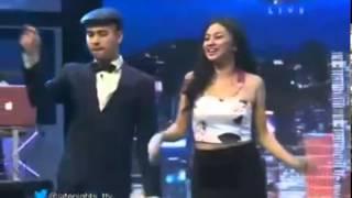 getlinkyoutube.com-Ariel tatum Goyang Pecut di Late night Show Trans TV