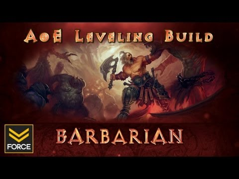 Diablo 3 Barbarian Build: AoE Stomp, Rend, Cleave