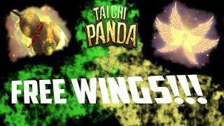 How to get FREE wings in Taichi Panda