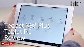 getlinkyoutube.com-Gearbest Review: Teclast X98 Plus Windows 10 + Android 5.1 Tablet PC Review - Gearbest.com