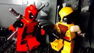 getlinkyoutube.com-Lego Deadpool vs Wolverine