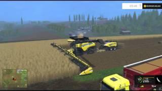 getlinkyoutube.com-Farming Simulator 15 PC Mod Showcase: New Holland Combine