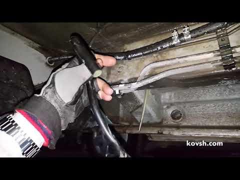 Попадание воды в бак: причина и устранение. Mercedes Benz Vito II W639 2.1d OM646