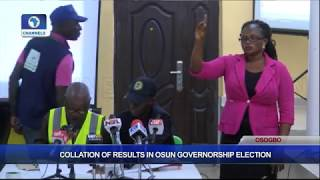 Collation Of Results In Osun Governorship Election Pt.4 |Osun Decides|