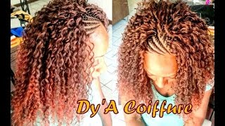 getlinkyoutube.com-Tutorial : Original Crochet braid by Dy'A Coiffure