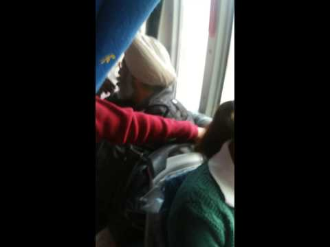 Harassment of a girl in a Chandigarh's Local Bus